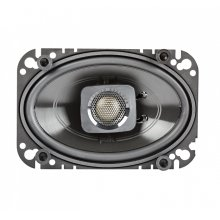 "DB+ Series 4""x6"" Coaxial Speakers with Marine Certification in Black"