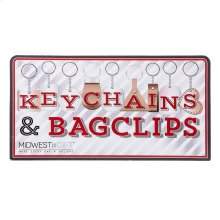 Keychain & Bag Clip Sign