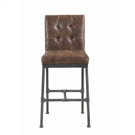 Antique Brown Bar Stool