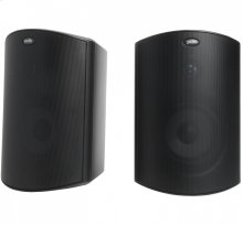 "All Weather Outdoor Loudspeakers with 5.25"" Drivers, 1"" Tweeters and PowerPort Bass Venting in Black"