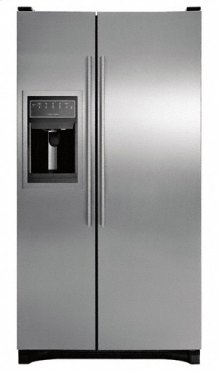 Brushed Stainless Steel 25.6 cu ft Side By Side