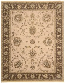Legend Ld02 Bge Rectangle Rug 5'6'' X 8'6''