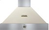 Hood DECO 36'' Cream matte, Bronze 1 power blower, analog control, baffle filters