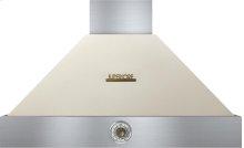 Hood DECO 36'' Cream matte, Bronze 1 power blower, analog control, baffle filters