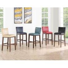 """Tiffany KD Bar Chair, Toffee, 18""""x23""""x41"""""""