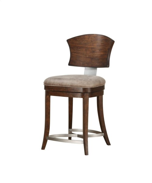 D43124 Emerald Home Oxford Hills Swivel Barstool 24 Inch D431 24 By