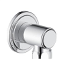 Hand Shower Wall Outlet Darby (series 15) Polished Chrome