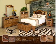 Bedroom Trunk w/ cowhide