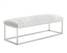 Sutton Bench - White Product Image