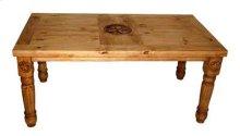 5' Table W/star On Top & Leg