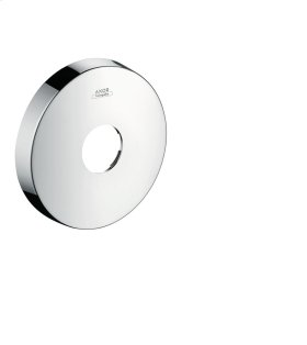 Stainless Steel Optic Extension escutcheon round - single hole