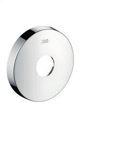 Chrome Extension escutcheon round - single hole