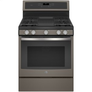"GE Profile30"" Free-Standing Gas Convection Range"