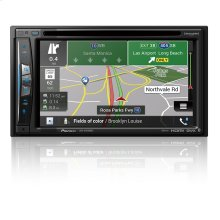 In-Dash Navigation AV Receiver with 6.2 WVGA Touchscreen Display