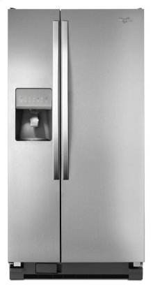 33-inch Wide Side-by-Side Refrigerator with LED Lighting - 21 cu. ft.