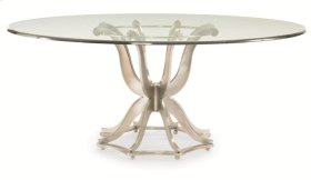 Metal Dining Table Base Only