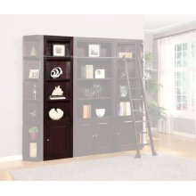 Boston 22 in. Open Top Bookcase