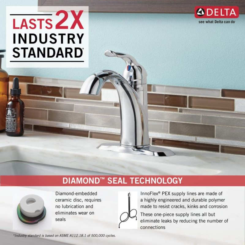 538MPUDST in Chrome by Delta Faucet Company in New York City, NY ...