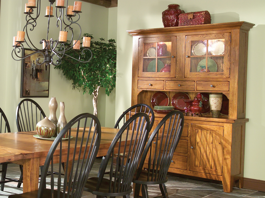 Hidden · Additional Rustic Traditions Dining Room Furniture