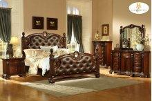 Queen Bed, Dresser,Mirror,Night Stand