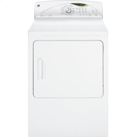 GE® 7.0 cu. ft. stainless steel capacity electric dryer with Steam and HE SensorDry