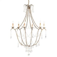 Elizabeth Gold Chandelier