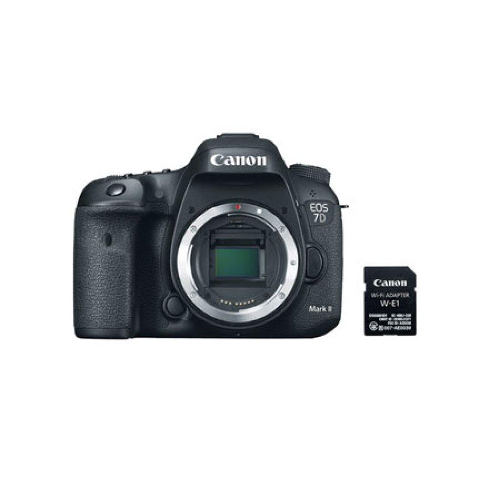 Canon EOS 7D Mark II Body Wi-Fi Adapter Kit Digital SLR Camera