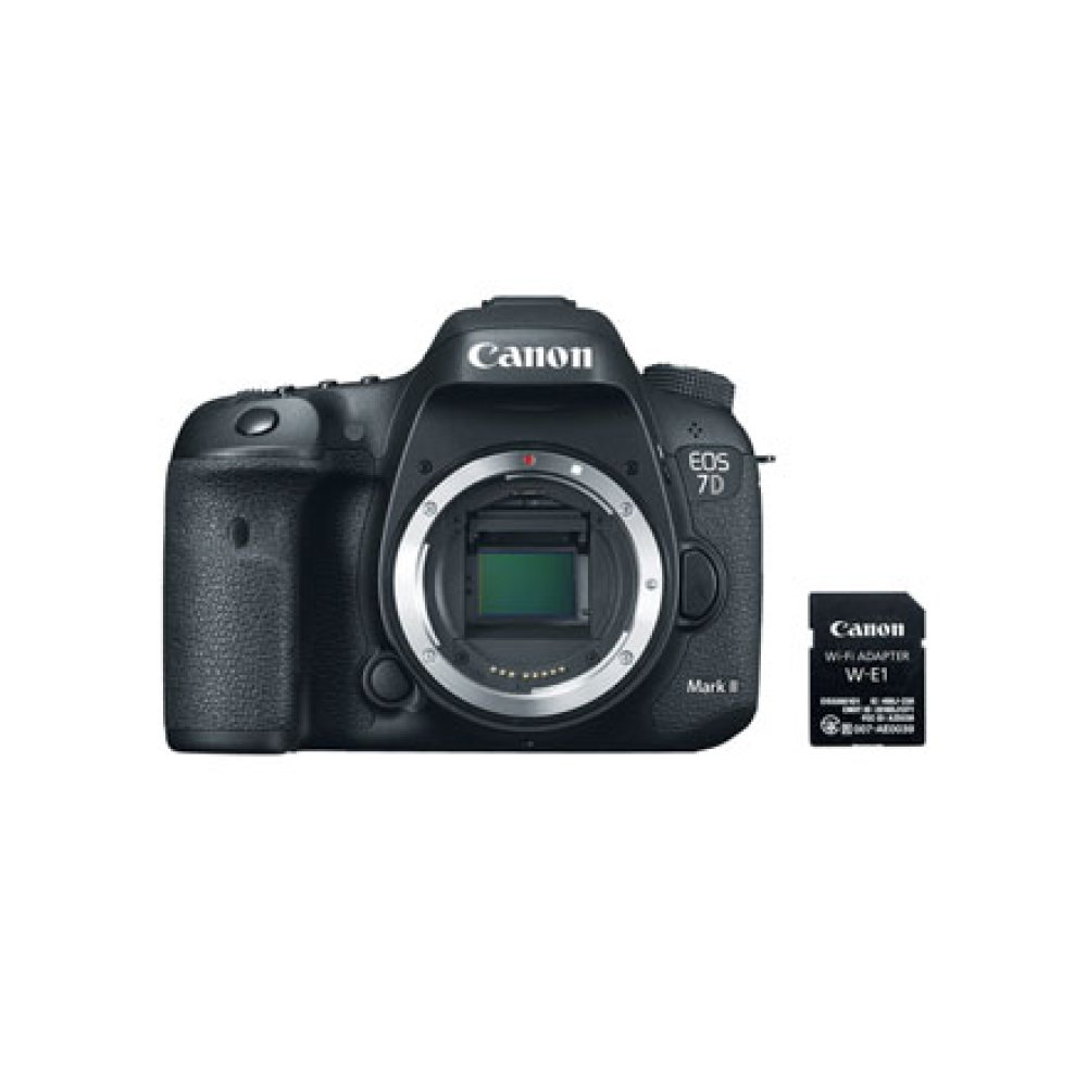 Canon EOS 7D Mark II Body Wi-Fi Adapter Kit Digital SLR Camera