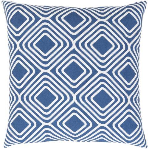 "Miranda MRA-009 18"" x 18"" Pillow Shell with Down Insert"