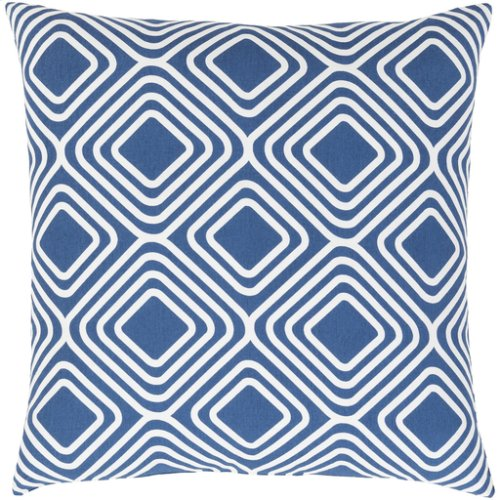 "Miranda MRA-009 18"" x 18"" Pillow Shell with Polyester Insert"