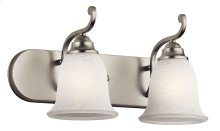 Camerena 2 Light Vanity Light Brushed Nickel