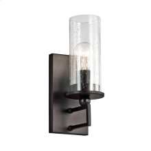 Kayde Collection Kayde 1 Light Wall Sconce - Olde Bronze