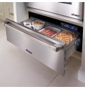 "DACOR Renaissance 24"" Epicure Warming Drawer, in Stainless Steel with Chrome Trim"