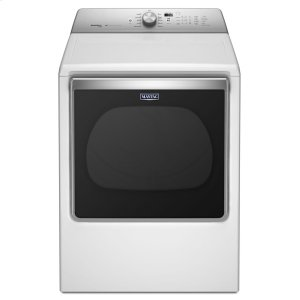 8.8 cu. ft. Extra-Large Capacity Dryer with Steam Refresh Cycle - WHITE