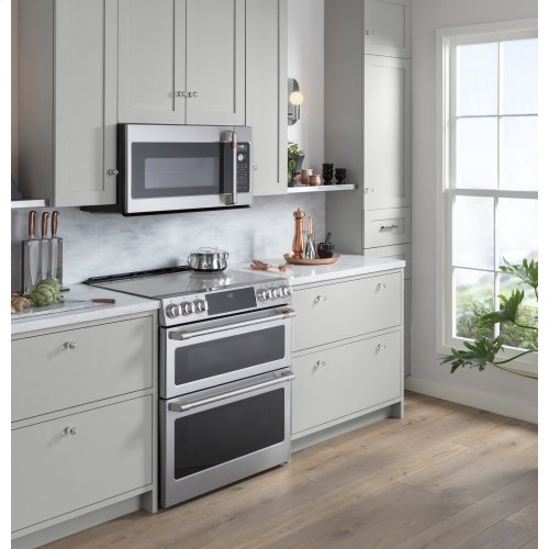 Slide-In Front Control Double Electric Induction, 7 cu ft (2.7/4.3) , Wifi Connectivity, Self Clean