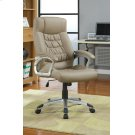 Transitional Taupe Office Chair Product Image