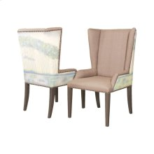 LADIES BY THE LAKE WING BACK CHAIR - Set of 2