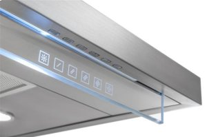 "Harmonia - 35-7/16"" Stainless Steel Chimney Range Hood for use with a choice of Exterior or In-line blowers"