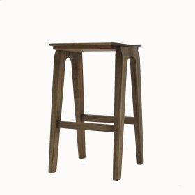 Preston Counter Stool, Natural Black Wash