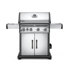 Rogue® 525 Propane Gas Grill with Infrared Side Burner, Stainless Steel