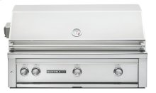 "36"" Sedona by LynxBuilt in Grill - 3 SS Tube Burners with Rotisserie NG"