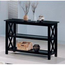 Merlot Double Shelf Sofa Table