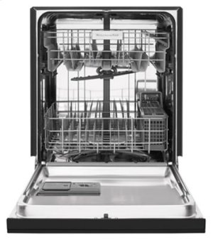 RED HOT BUY! 24'' 6-Cycle/5-Option Dishwasher, Pocket Handle - Black