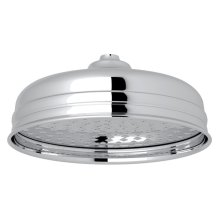 "Polished Chrome Perrin & Rowe 8"" Rain Showerhead"