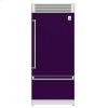 "Hestan 36"" Pro Style Bottom Mount, Top Compressor Refrigerator - Krp Series - Lush"