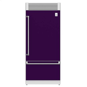 "Hestan36"" Pro Style Bottom Mount, Top Compressor Refrigerator - KRP Series - Lush"