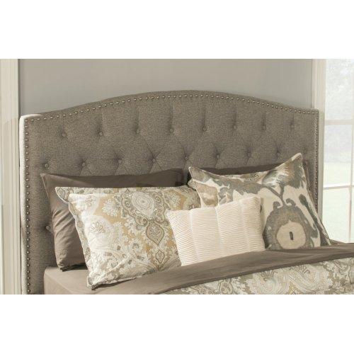 Lila King Bed - Natural Herringbone