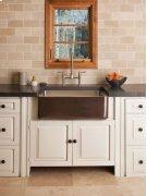 Copper/stainless Farmhouse Sink Antique Dark Copper / Copper/stainless Farmhouse Sink Product Image