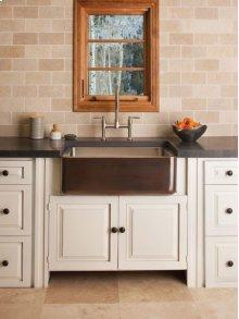 Copper/stainless Farmhouse Sink Antique Dark Copper / Copper/stainless Farmhouse Sink
