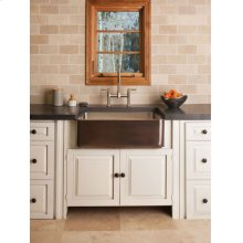 Copper/stainless Farmhouse Sink Antique Dark Copper / Copper/stainless Farmhouse Sink